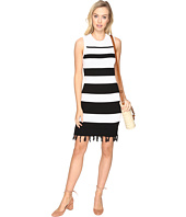 Jack by BB Dakota - Dri Stripe Sweater Dress with Fringe