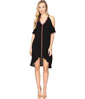 Jack by BB Dakota - Arik Cold Shoulder Dress with Novelty Ribbon Trim