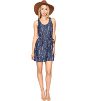 Jack by BB Dakota - Tavon Printed Chambray Snap Front Dress