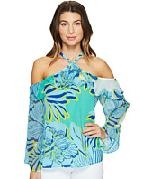 Hale Bob - Hot Topics Cold Washed Silk Georgette Shoulder Top