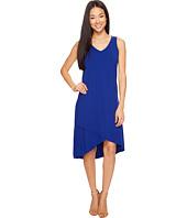 Mod-o-doc - Cotton Modal Spandex Jersey Crossover Hem Dress