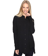 Mod-o-doc - Textured Slub Stripe Back Crossover Button Front Shirt