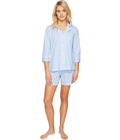 LAUREN Ralph Lauren - 3/4 Sleeve Notch Collar Short Set