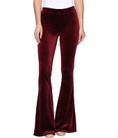 Blank NYC - Velvet Burgundy Pull-On Flare in Burgundy Lush