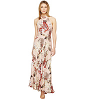 Brigitte Bailey - Nova High Neck Maxi Dress with Back Bowtie