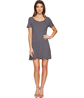 Culture Phit - Lea Short Sleeve Striped Dress