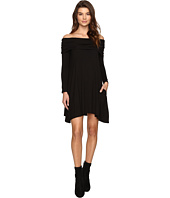 Culture Phit - Kellan Off the Shoulder Fold-Over Dress