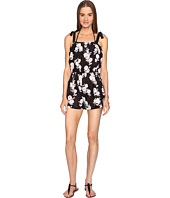 Kate Spade New York - Posey Grove Tie Shoulder Romper Cover-Up