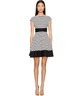 Kate Spade New York - Broome Street Ponte Stripe Fiorella Dress