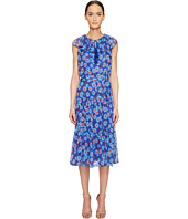 Kate Spade New York - Full Plume Tangier Floral Chiffon Dress
