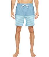 Quiksilver Waterman - Breezy Stripe Volley Shorts
