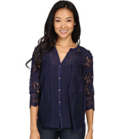 Lucky Brand - Lace Mix Top