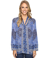 Lucky Brand - Tie Neck Blouse