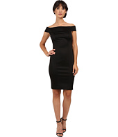 Adrianna Papell - Off Shoulder Ottoman Sheath Dress