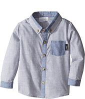 Kardashian Kids - Textured Shirt with Chambray Trim (Infant)