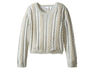 Chunky Cable Knit Sweater (Toddler/Little Kids)