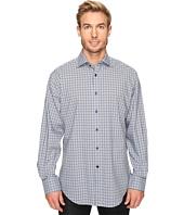 Thomas Dean & Co. - Long Sleeve Multi Check Sport Shirt