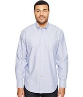 Thomas Dean & Co. - Long Sleeve Geometric Jacquard Sport Shirt