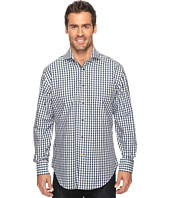 Thomas Dean & Co. - Long Sleeve Textured Check Sport Shirt