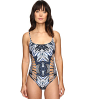 Red Carter - Indigo Blues Side Cut Out One-Piece