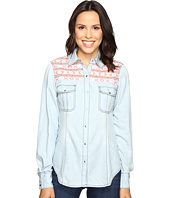 Rock and Roll Cowgirl - Long Sleeve Snap B4S7301