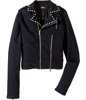 Hudson Kids - Moto Jacket with Studs Trim (Big Kids)