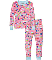 Hatley Kids - Pretty Butterflies Pajama Set (Toddler/Little Kids/Big Kids)