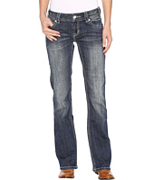 Rock and Roll Cowgirl - Low Rise Bootcut Jeans in Dark Vintage W0-9605