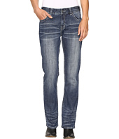 Rock and Roll Cowgirl - Boyfriend Bootcut Jeans in Medium Vintage W2-9623
