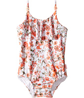 Seafolly Kids - Wild Poppy Ruffle Tank One-Piece (Infant/Toddler/Little Kids)