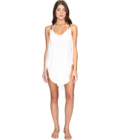 Lucky Brand - Coastal Palms Tulip Side Dress Cover-Up