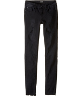 Hudson Kids - Five-Pocket Super Stretch Skinny with Destruction Jeans in Splatter Pop
