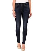 Hudson - Ciara Exposed Button Skinny High-Rise in Calvary