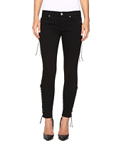 Hudson - Suki Mid-Rise Ankle Super Skinny in Black