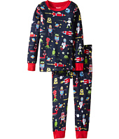 Hatley Kids - Space Aliens Pajama Set (Toddler/Little Kids/Big Kids)