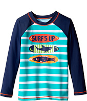 Hatley Kids - Surfboards Rashguard (Toddler/Little Kids/Big Kids)