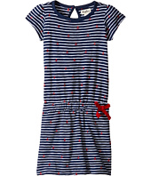 Hatley Kids - Embroidered Anchors Drop Waist Dress (Toddler/Little Kids/Big Kids)