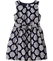 Hatley Kids - Henna Floral Lined Party Dress (Toddler/Little Kids/Big Kids)