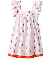 Hatley Kids - Embroidered Porcelain Flutter Sleeve Dress (Toddler/Little Kids/Big Kids)