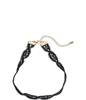 Steve Madden - Cross-Over Lace Choker Necklace