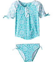 Hatley Kids - Tiled Mandala Rashguard Set (Toddler/Little Kids/Big Kids)