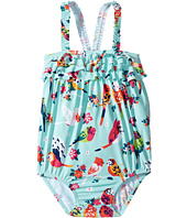 Hatley Kids - Tropical Birds Ruffle Swimsuit (Infant)