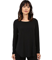 Karen Kane - Silver Dot Shirttail Top