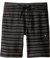 VISSLA Kids - Sofa Surfer The Box Fleece Shorts 17