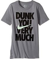 Nike Kids - Dry Dunk You Short Sleeve Tee (Little Kids/Big Kids)