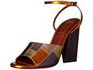 Patchwork Glitter Sandal