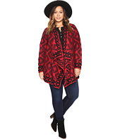 Lucky Brand - Plus Size Aztec Wrap