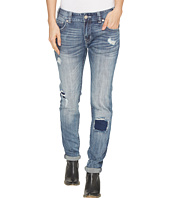 Rock and Roll Cowgirl - Boyfriend Skinny in Medium Wash W2S1404