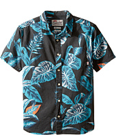 Quiksilver Kids - Aloe Shirt Short Sleeve Woven Top (Big Kids)