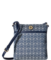 Tommy Hilfiger - Alena North/South Crossbody Monogram Jacquard